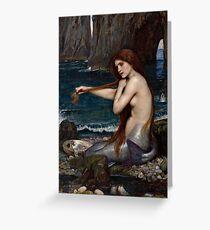 The Mermaid Greeting Card