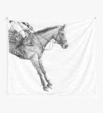 Gravity - Event Horse Wall Tapestry