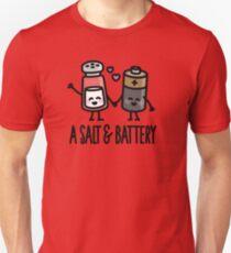 A salt and battery T-Shirt