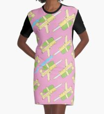 Super Soakers Graphic T-Shirt Dress