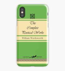 William Wordsworth Retro Book Cover iPhone Case/Skin