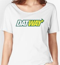 DatWay - I Used To Trap Outta Subway Women's Relaxed Fit T-Shirt