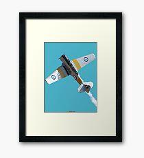 Plane & Simple - Harvard VH-XNZ Framed Print