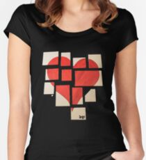 Della's Heart Women's Fitted Scoop T-Shirt