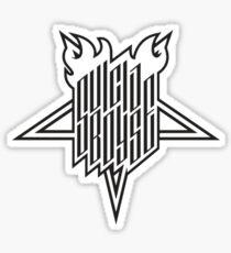 Suicide Boys FTP Star Sticker