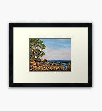 Summer Lowtide Morning Framed Print
