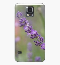 close up of lavdender violet stem. Case/Skin for Samsung Galaxy
