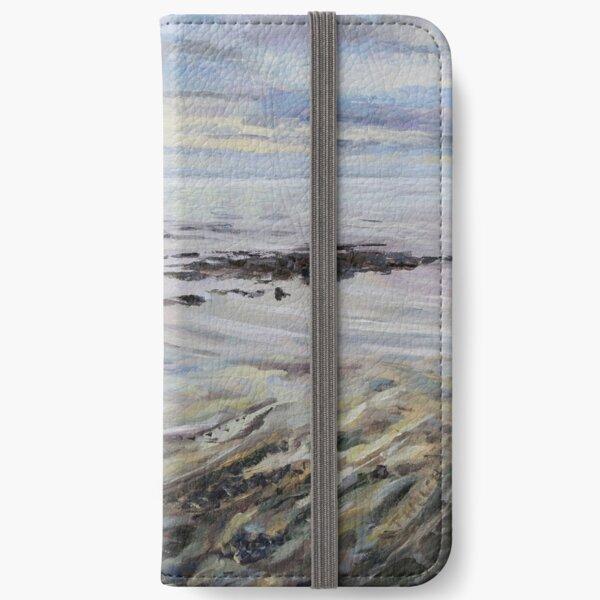 Melancholy Seas iPhone Wallet