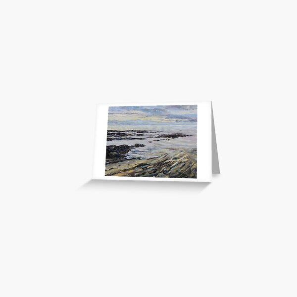 Melancholy Seas Greeting Card