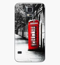 London Calling - London Red Telephone Booth - Classic British Phone Box Case/Skin for Samsung Galaxy