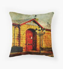 Old Kilmore Gaol Throw Pillow