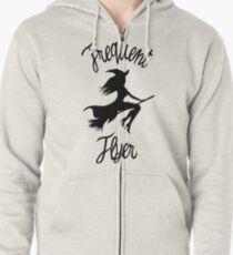 Halloween T Shirt Frequent Flyer Witch T-Shirt
