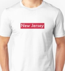 Supremely New Jersey (Red) Unisex T-Shirt