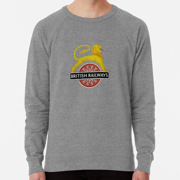 British Railway Lion on Bicycle Emblem Lightweight Sweatshirt