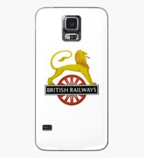 British Railway Lion on Bicycle Emblem Case/Skin for Samsung Galaxy