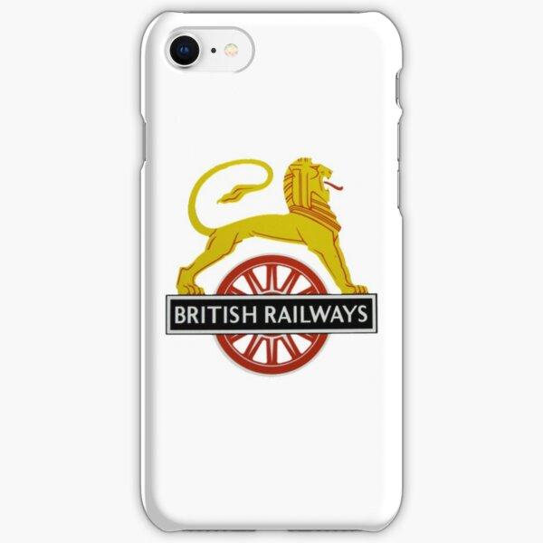 British Railway Lion on Bicycle Emblem iPhone Snap Case