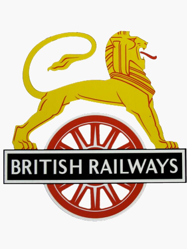 British Railway Lion on Bicycle Emblem by JustBritish