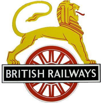 British Railway Lion on Bicycle Emblem by JustBritish