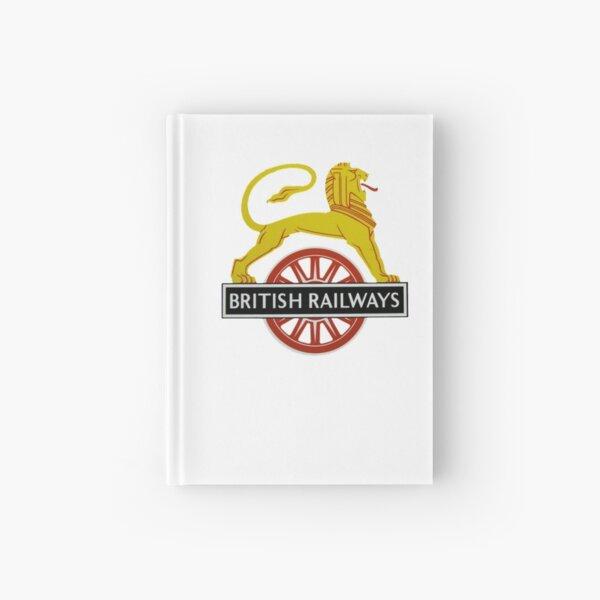 British Railway Lion on Bicycle Emblem Hardcover Journal