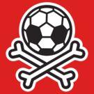 Soccer skull hooligan by LaundryFactory