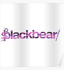 Blackbear Pink Camo Poster