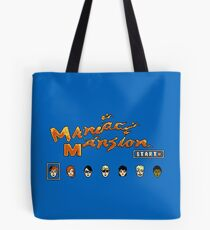 Maniac Mansion (NES) Tote Bag