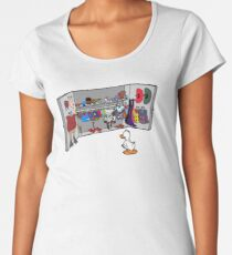 Which Duck to Be Today? Women's Premium T-Shirt