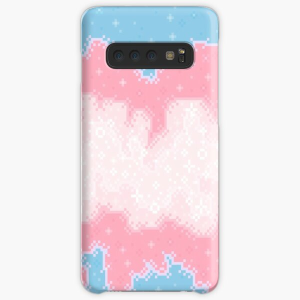 Colorblock Galaxy:  Blue, Pink, White Samsung Galaxy Snap Case
