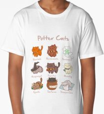 Potter Cats Long T-Shirt