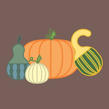 Pumpkins & Gourds by KaylaFolino