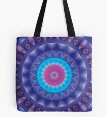 Unique, Original Abstract Kaleidoscope Mandala Tote Bag