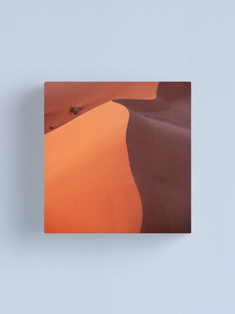 Alternate view of Dune in the dusk Canvas Print