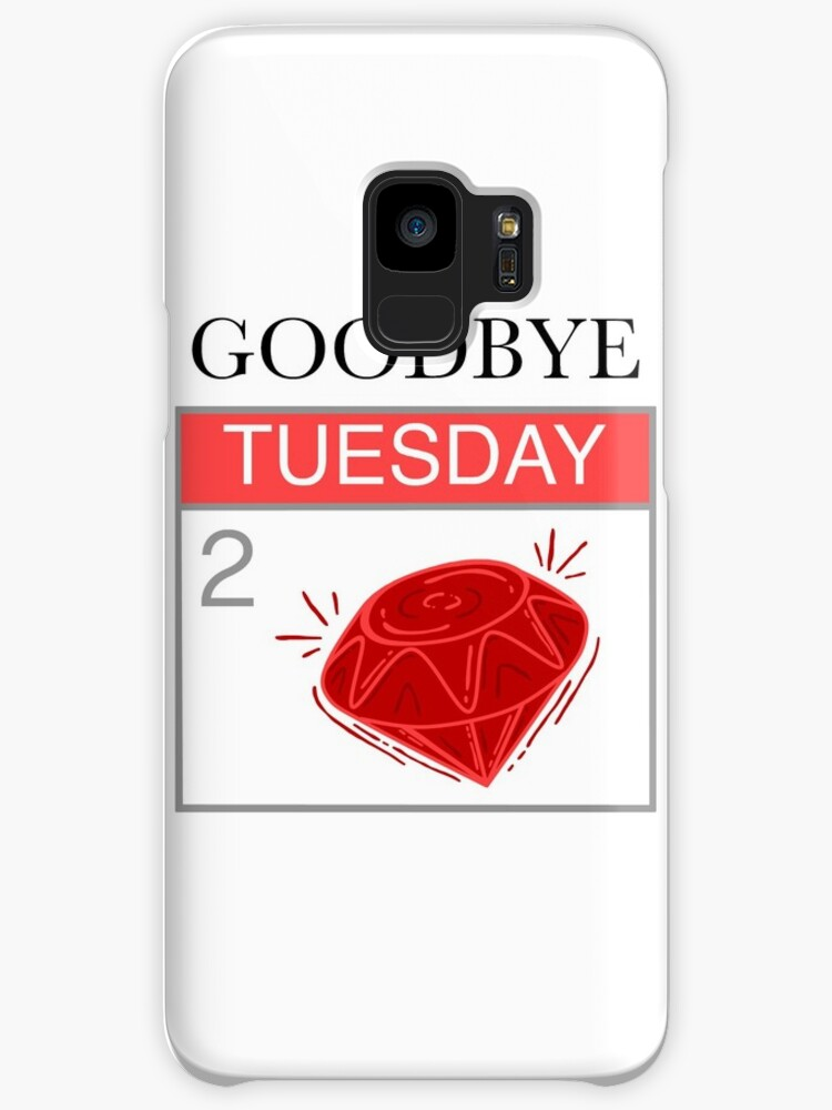Farewell To The Red Jewel Found On The Third Day Of The Week Cases