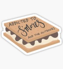 Girl Scout Smore Outdoor Camp Sticker Sticker