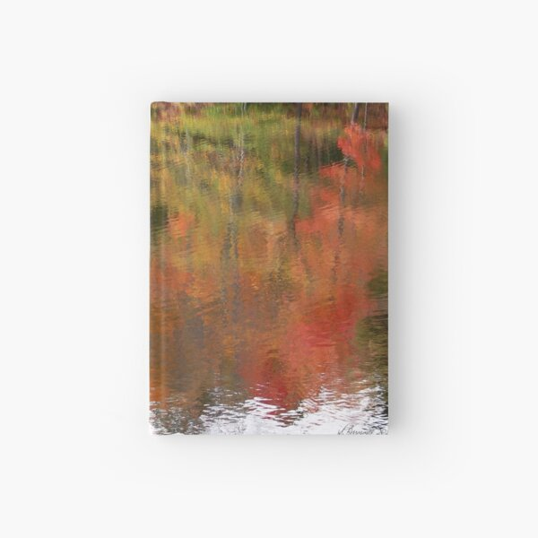 Fall Upside Right Hardcover Journal