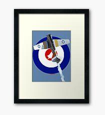 Post WW2 RNZAF Roundel Harvard VH-XNZ (NZ1024) Framed Print