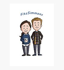 Fitzsimmons Chibis Photographic Print