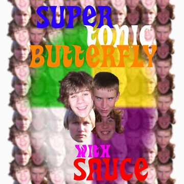 Super Tonic Butterfly with Sauce by PhantomCode