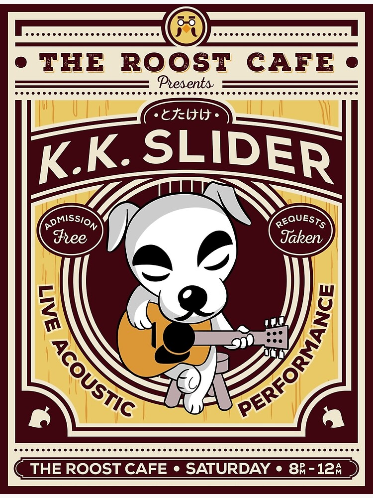 K.K. Slider Gig Poster by owlhaus