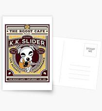 K.K. Slider Gig Poster Postcards