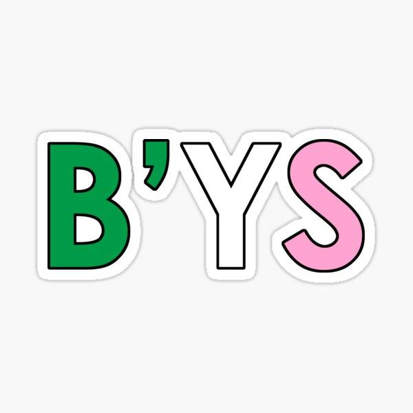 B'ys Sticker