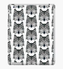 Kristalliner Wolf iPad-Hülle & Klebefolie