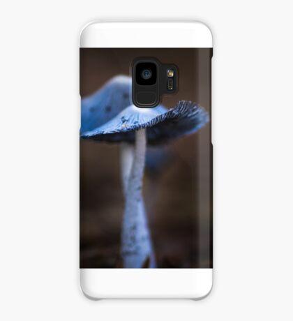 Macro Blue Fungi Case/Skin for Samsung Galaxy