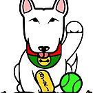 Maneki-Buruteria - Lucky Bull Terrier by BTRI