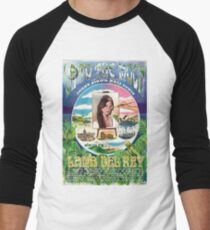 delrey Men's Baseball ¾ T-Shirt