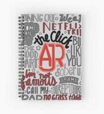 Cuaderno de espiral AJR The Click
