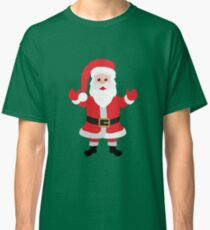 Christmas Santa Claus Says Welcome to You Classic T-Shirt