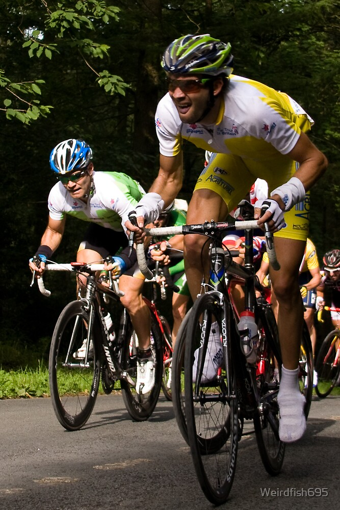 Yellow Jersey - Tour of Britain by Weirdfish695