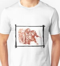 Gladiator fights against a lion T-Shirt