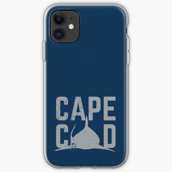 Cape Cod Vintage Shark Shirt  iPhone Soft Case